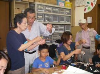ボランティアの会・ネイチャークラフト体験  7月 @ ビジターセンター・バードピア浜北