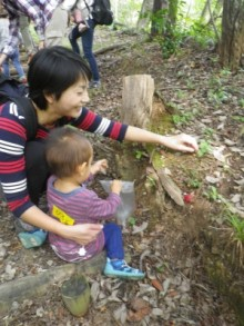 のびのび子育て森じかん(秋冬)~まつぼっくりコース~ @ 県立森林公園内
