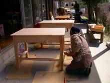 学習机を作ろう @ 森林公園・木工体験館