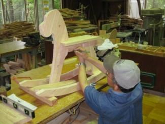 木馬を作ろう @ 森林公園・木工体験館