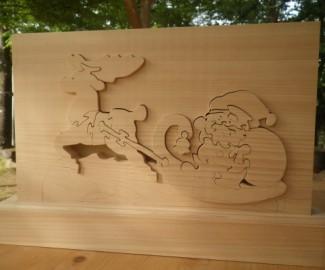 クリスマス飾りを作ろう @ 森林公園・木工体験館