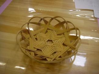 竹細工・星編み盆づくり @ 県立森林公園「木工体験館」