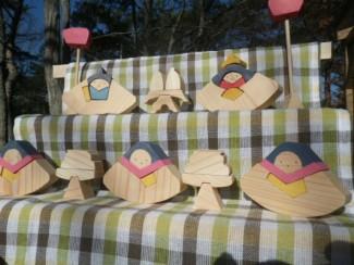 雛段飾りを作ろう @ 森林公園・木工体験館